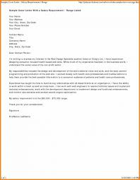 Sample Vawa Cover Letter Sample Cover Letter With Salary Requirements New Pin By
