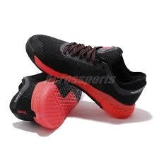 Reebok Nano Size Chart Details About Reebok Nano 9 Black Red Men Crossfit Cross Training Shoes Sneakers Fu6828