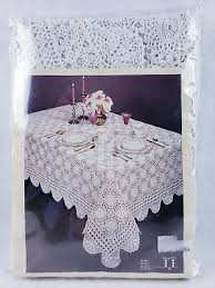 royal lace by china art linens 66 inch diameter round table cloth 100 cotton