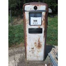 gilbarco gas pump. old vintage gilbarco gas pump diecast model for sale - new and used fast-