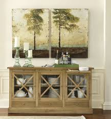 Great How To Decorate A Dining Room Buffet Table  About Remodel - Buffet table dining room