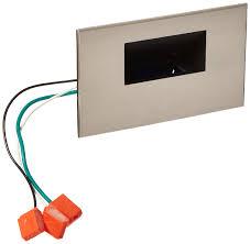 Wac Hardscape Lighting Wac Lighting Wl Led100 Bl Bn 120v Horizontal Step Light With