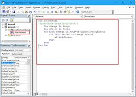 Microsoft Word Update All Fields How To Auto Update Field Codes When Reopen Document In Word