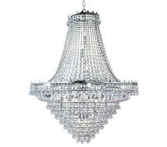 searchlight versailles 19 light chandelier chrome finish trimmed with crystal drops 9112 102cc