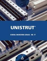 unistrut catalog free pdf unistrut number 17 17 general engineering catalog