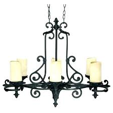 chandelier with candles chandeliers candles iron candle chandelier with wrought throughout design 8 rustic non electric