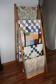34 best Quilt Rack images on Pinterest | Workshop, Building ideas ... & quilt rack plans | quilt ladder , Find rustic quilt display your quilt -ladder- Adamdwight.com