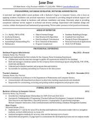 Database Developer Resume Template Extraordinary Click Here To Download This Programmer Or Database Developer Or