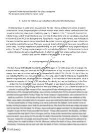 christianity essay introduction belief systems christianity essays