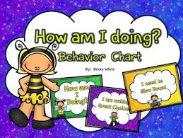 How Am I Doing Chart How Am I Doing Behavior Chart Busy Bee Theme