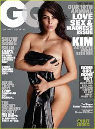 Kim Kardashian Celebrates Her GQ Cover in Super Sexy Dress.