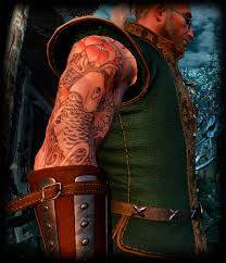 Thug Of Rivia My New Full Body Tattoo Mod At The Witcher 3 Nexus