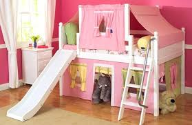 bed designs for kids. Kids Play Bed Design Twin Wooden Material Bunk With Slide Transitional Bedroom Decors Wood Children Playroom Fun Creativity Storage Designs For L