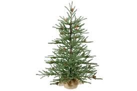 vickerman carmel pine tree with burlap base unlit 42 inch