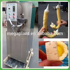 Corn Vending Machine Amazing Source Delicious Corn Puff Snack Extruder Soft Ice Cream Vending