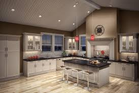 image of led sloped ceiling recessed lighting