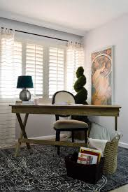 budget home office furniture. vintage eclectic office makeover with world market budget home furniture f