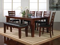 Furniture: Dining Room Sets With Bench New Crown Mark Bardstown Dining Room  Set Dining Room
