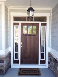 Another Favorite Door Style And It Provides More Privacy But Still - Hardwood exterior doors and frames