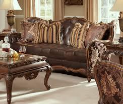 wood and fabric sofas sofa bed dual three bit l apartment sofa with wood trim