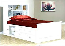 twin storage bed. Delighful Bed White Twin Bed With Storage  Frames Ana