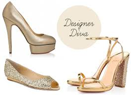 gold wedding shoes for bridesmaids. gold-designer-bridal-shoes gold wedding shoes for bridesmaids