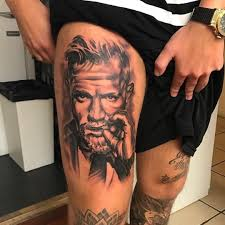 So A Dude In Ireland Got A Conor Mcgregor Face Tattoo That Covers