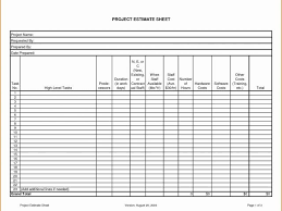 Awesome Construction Punch List Template Builders Estimate Template ...