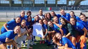Nazionale U19 Femminile. L'Italia vince anche la seconda amichevole con  l'Austria, successo in rimonta con i gol di Cochis e Arcangeli - Italia