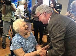 Go Mabel! Australia's second oldest resident celebrates 110th birthday -  Downsizing