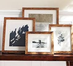 rustic wood picture frames. Pottery Barn Rustic Wood Gallery Frames Picture T
