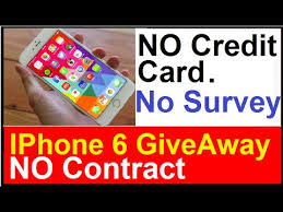 iphone no contract. free iphones: no credit card - survey to fill contract get your iphone now iphone