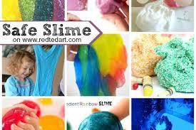 no borax no glue slime recipes
