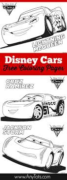 Free Printable Disney Cars Coloring Pages: Lightning McQueen ...