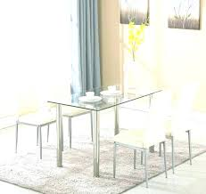 small round glass bistro table small glass breakfast table round glass dining table and 4 chairs