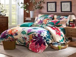 Twin Size Bedroom Sets Unique Twin Full Queen Size 100 Cotton Bohemian Boho  Style Floral Bedding Sets Girls Forter Sets