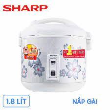 Nồi cơm điện Sharp KS-N182ETV-SW (1.8 lít, nắp gài) – Mua Sắm Điện Máy - Hệ  Thống Bán Lẻ Hàng Điện Máy Chính Hãng