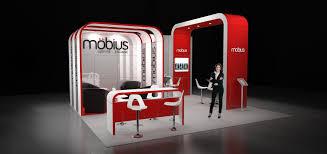 Modular Exhibition Stand Design Image 13 Möbius 7 X 6m Modular Exhibition Stand Without The
