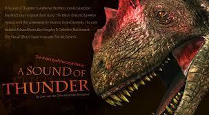 a sound of thunder essay sound of thunder essays manyessays com
