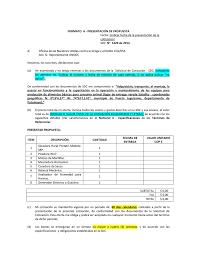 Formato Para Cotizacion De Servicios Formato A Presentacion De Propuesta