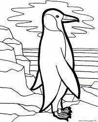 Lonely Penguin E1449387669454853b Coloring Pages Printable