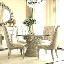 round glass dining room sets glass top dining room table furniture appealing small round glass dining