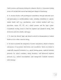 psychology internship report  7 family