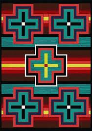 bright area rugs western area rugs bright bold area rugs