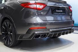 2018 maserati levante shtorm. delighful levante carbon fiber diffuser with tailpipes for maserati levante in 2018 maserati levante shtorm