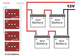 coach battery diagram inverter forums that s why it s recommended to label each connection or take a photo here s two diagrams of wiring 2 sets of 6 volt batteries to give 12 v