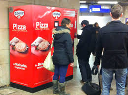 Pizza Vending Machine London Location Enchanting I Wonder What Nicksherman Would Think About This Pizza Vending