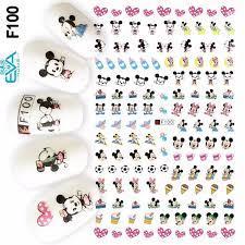 Miếng Dán Móng Tay 3D Nail Sticker Hoạt Hình Chuột Mickey F100