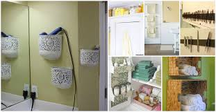 bathroom diy ideas.  Bathroom 30 Brilliant Bathroom Organization And Storage DIY Solutions  U0026 Crafts To Diy Ideas 7