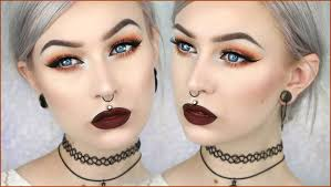 evelina forsell 90 s grunge glam autumn leaves makeup evelina forsell svenska yours